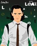 LOKI LAUFEYSON -LOKI by SebasArtStudio