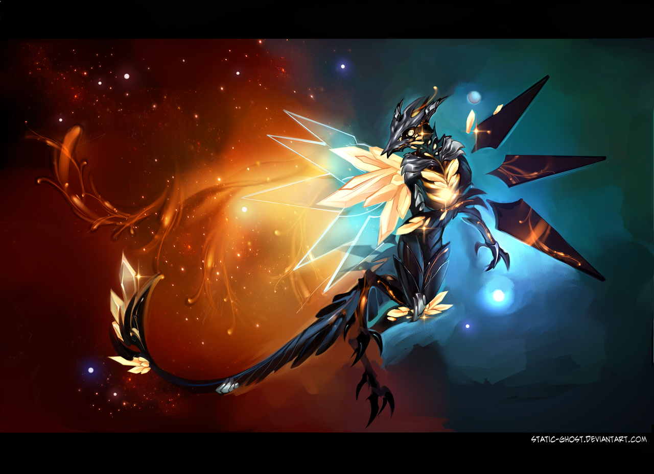 Nebula flight by Static-ghost