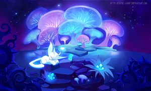 Forest dreamscape