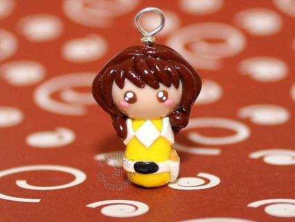 Chibi Custom Yellow Ranger by KBelleC