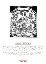 LAST ORDERS by Caberwood