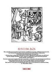 RHYTHM BOX by Caberwood