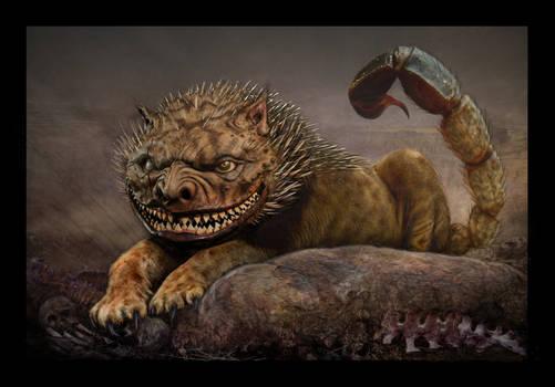 MANTICORE (Manticora Anthrophagus Horribilius)