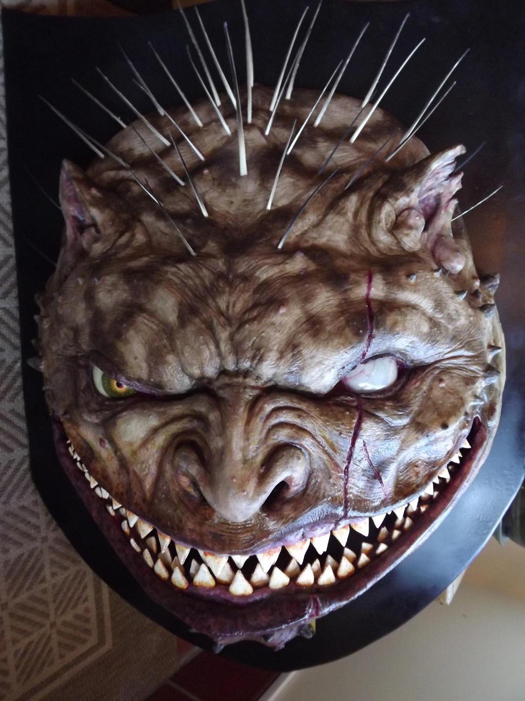 Manticore Trophy Head by Caberwood on DeviantArt