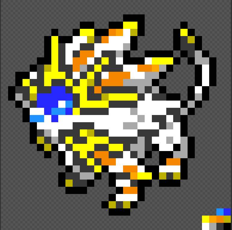 Solgaleo Pixel By Jollybuddy On Deviantart