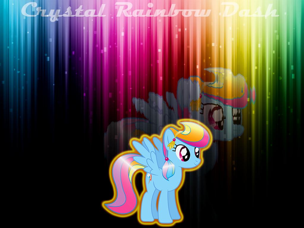 Crystal Rainbow Dash by NicolasDominique