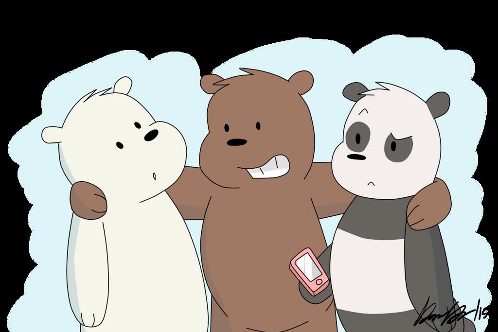 We Bare Bears by shgurr