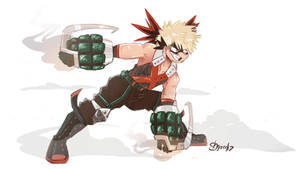Bakugo by shgurr