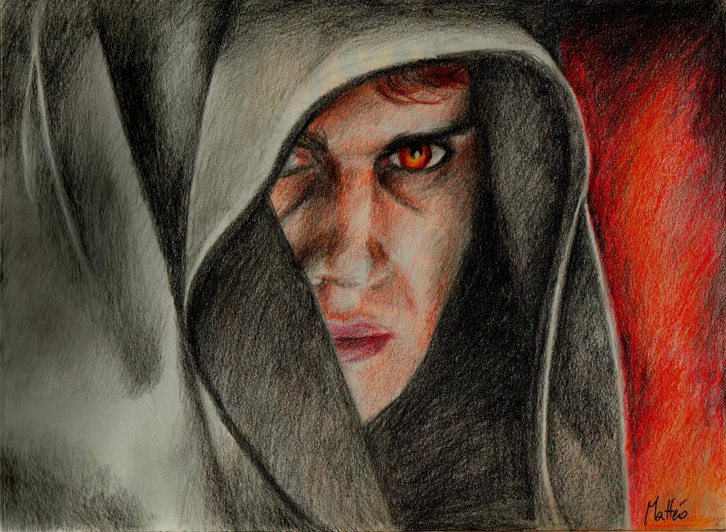 Anakin Skywalker couleur by ArtRotring on DeviantArt