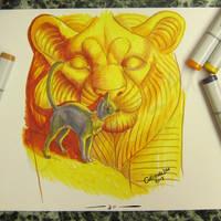 Inktober 2017 Day 30 -found by Asenceana