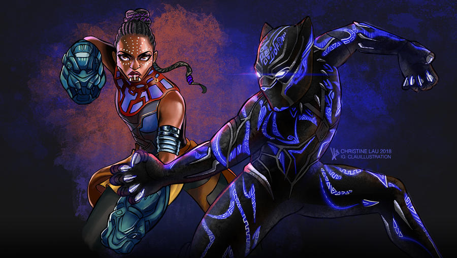 Royals of Wakanda by Asenceana