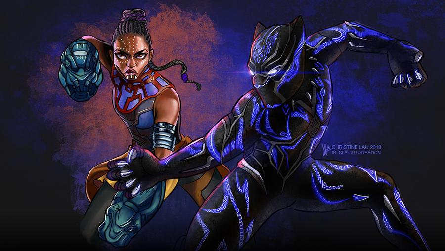 Royals of Wakanda by Asenceana