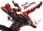 XOXO Deadpool by Asenceana