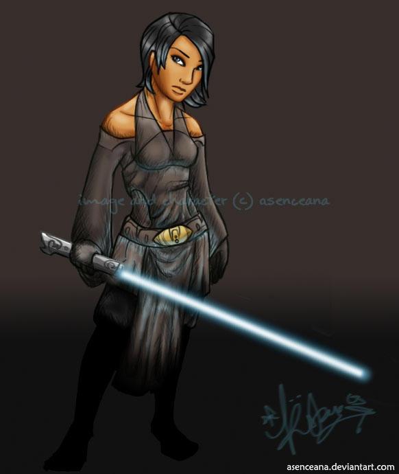 Jedi Wallpaper: Jedi Knight Adriane By Asenceana On DeviantArt
