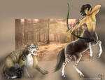 The Centaur and the cat