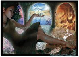 2007 Art coursework final by Asenceana