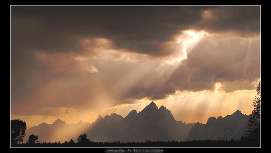 The Tetons by killersnowman