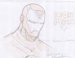 Iron Man sketch.
