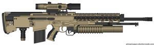 HCR-78 heavy combat rifle