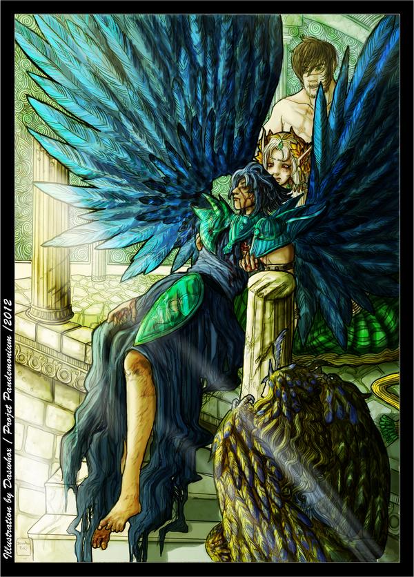 PANDE_Fallen angel by Daswhox