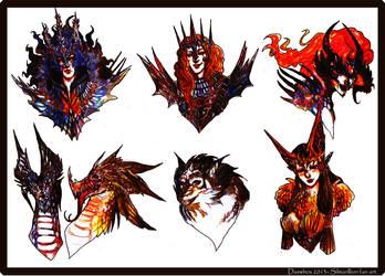 Silmarillion_ Melkor and his lieutenants