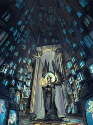 Silmarillion_Mandos cavern