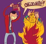 LUPIN SETS PEEPL ON FIRE D: