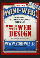 Yoni-Web Vintage Poster Print by SyRuS-be
