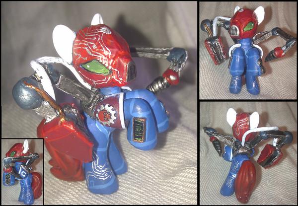 My Little Techmarine (Ultramarine) by Z113