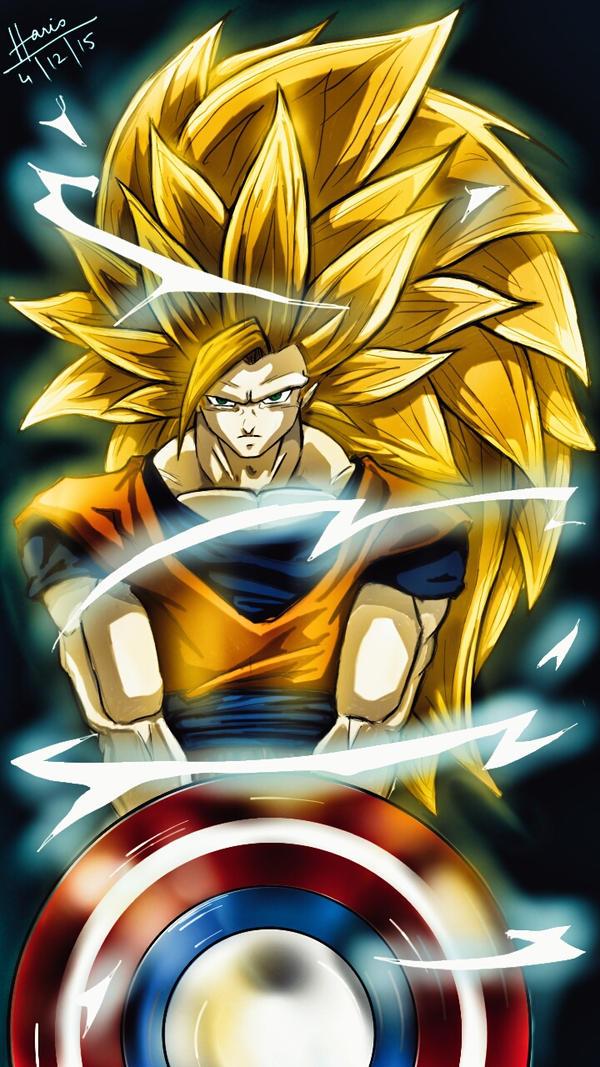 Marvel's Goku SSJ3 by trazor29