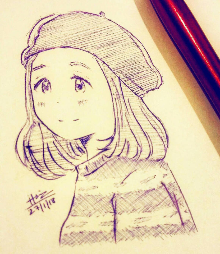 French girl by trazor29
