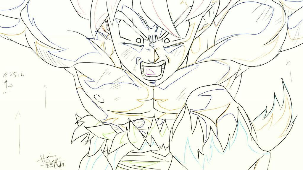 Goku: Fake Keyframe 2 by trazor29