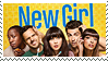 New Girl Stamp by Angelwithhazeleyes