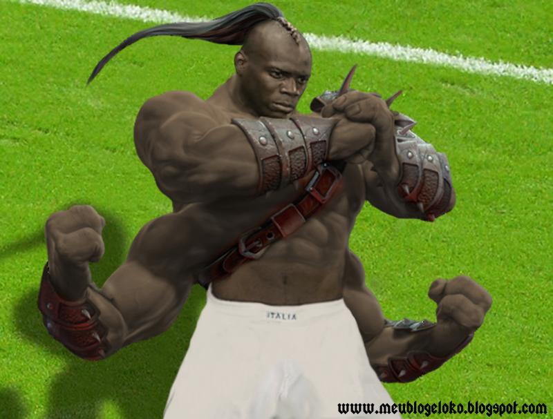 Balotelli Mortal Kombat by junnioor