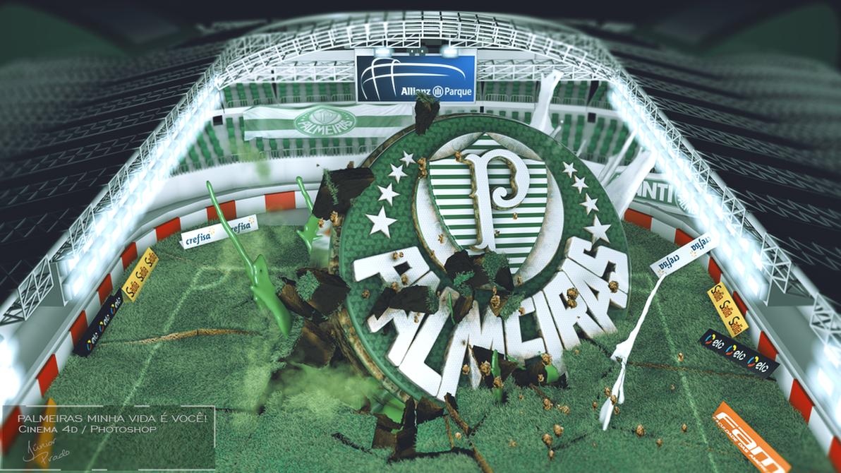 Esporte Tileable Papel De Parede Colorido: SEP PALMEIRAS PAPEL DE PAREDE WALLPAPER 3D FUTEBOL By