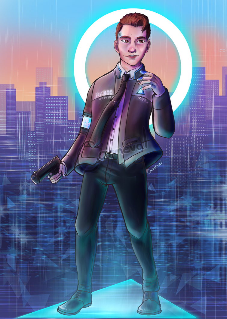 D:BH Connor print design by Carmeval