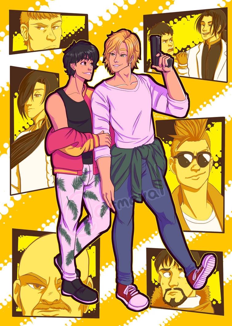 Banana Fish!!! by Carmeval
