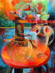 Colorful Glass Still Life