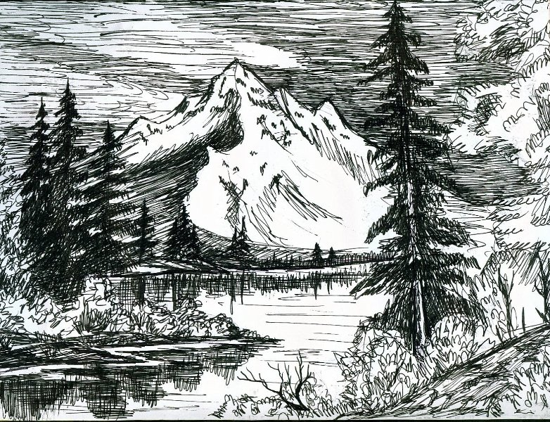 Landscape drawing by yelena315 on deviantart for What is landscape drawing