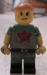 Lego Red Star by IcarusMach9