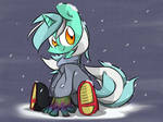Lyra in Winter Wear