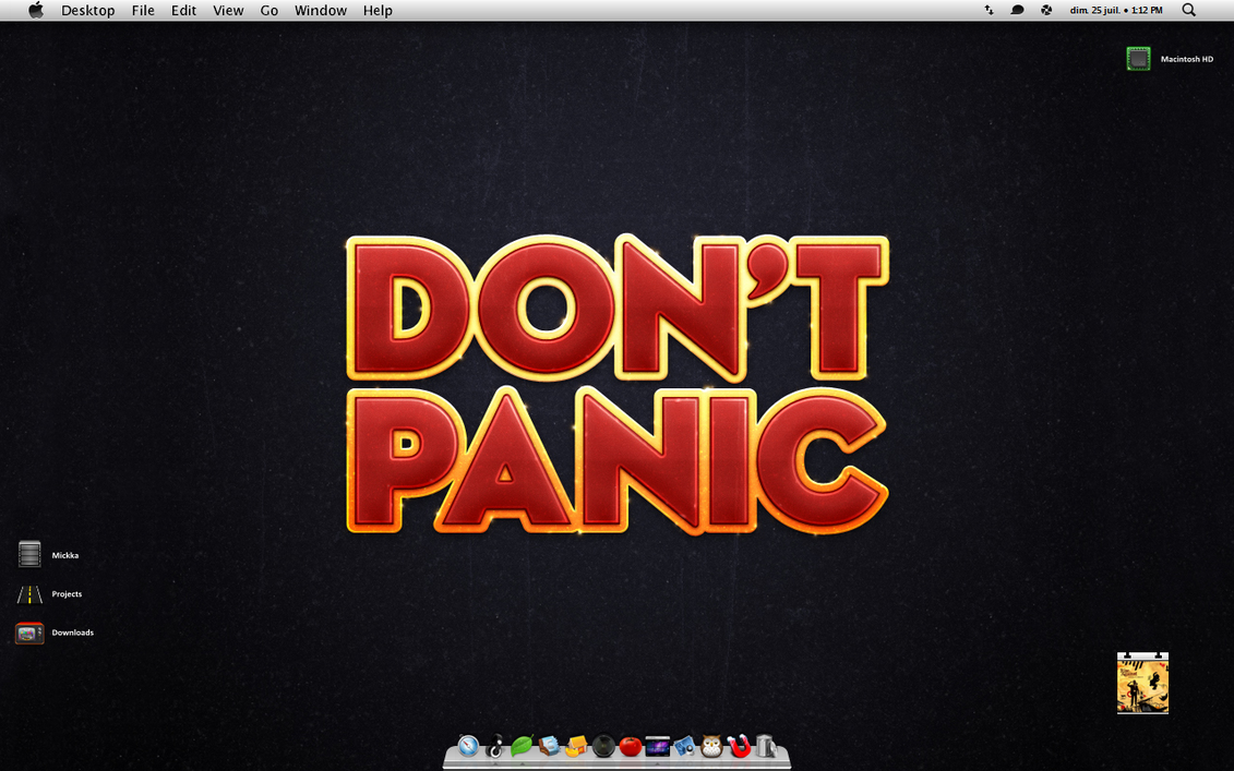 Don't Panic by Mickka