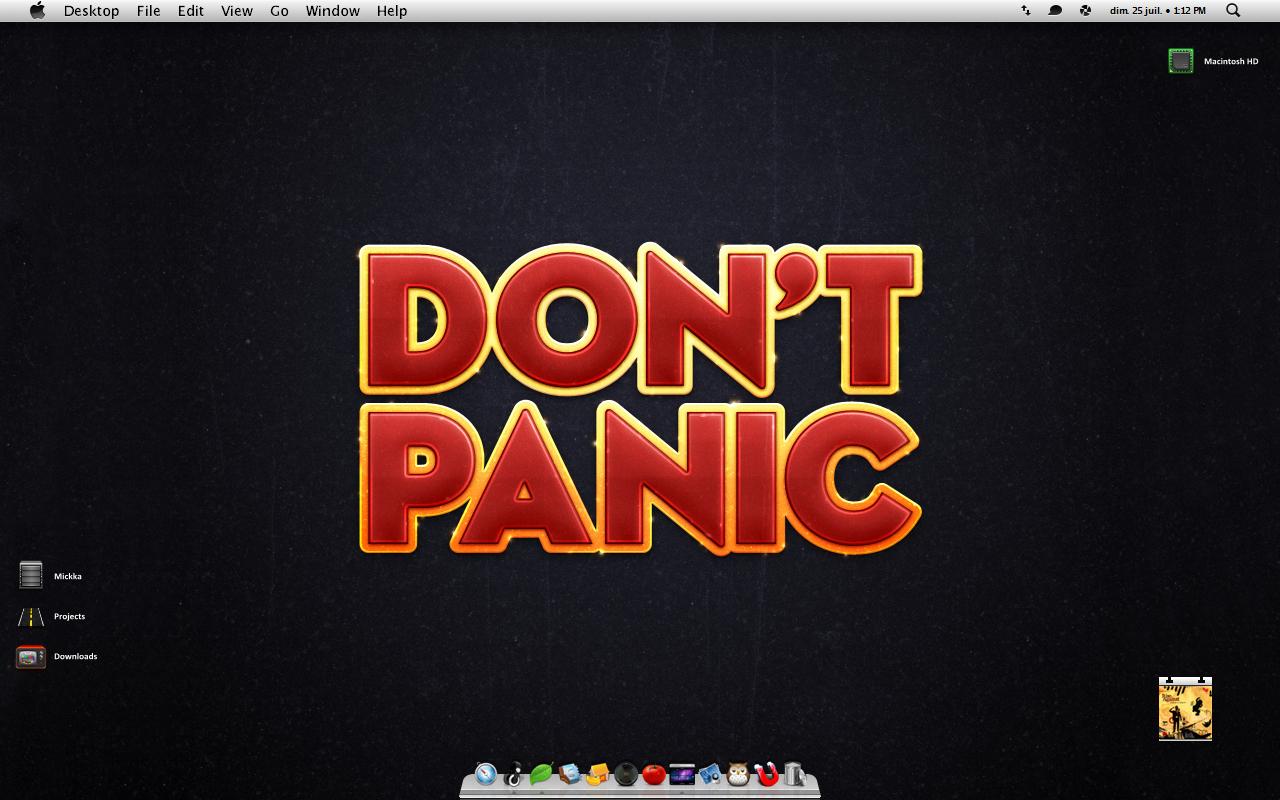 Don't Panic by Mickka