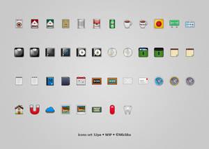 icons set 32px - WIP