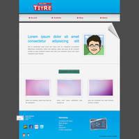 Mockup web design wip