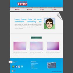 Mockup web design wip by Mickka