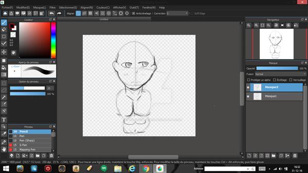 -~SNEEK PEEK~-Little Sketch Of Daniel Yuuma by XKawaiiWorldX