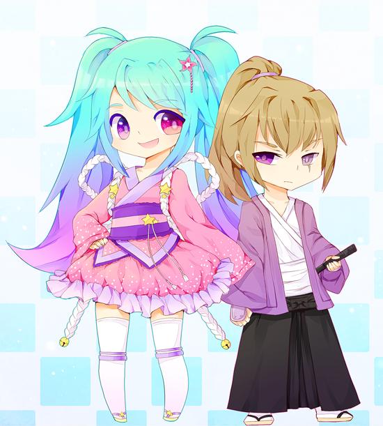 Youta and Tsuki by churpybird