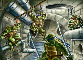 TMNT brother team by Romax25