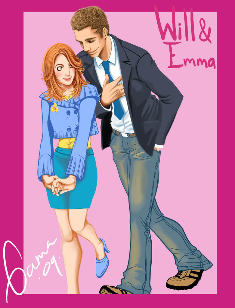 Glee Will and Emma by Romax25